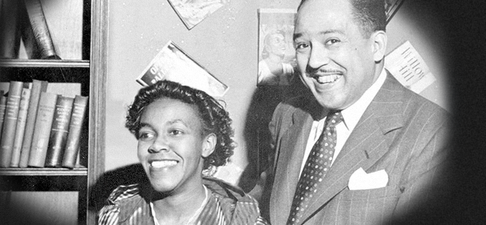 Gwendolyn Brooks and langston hughes