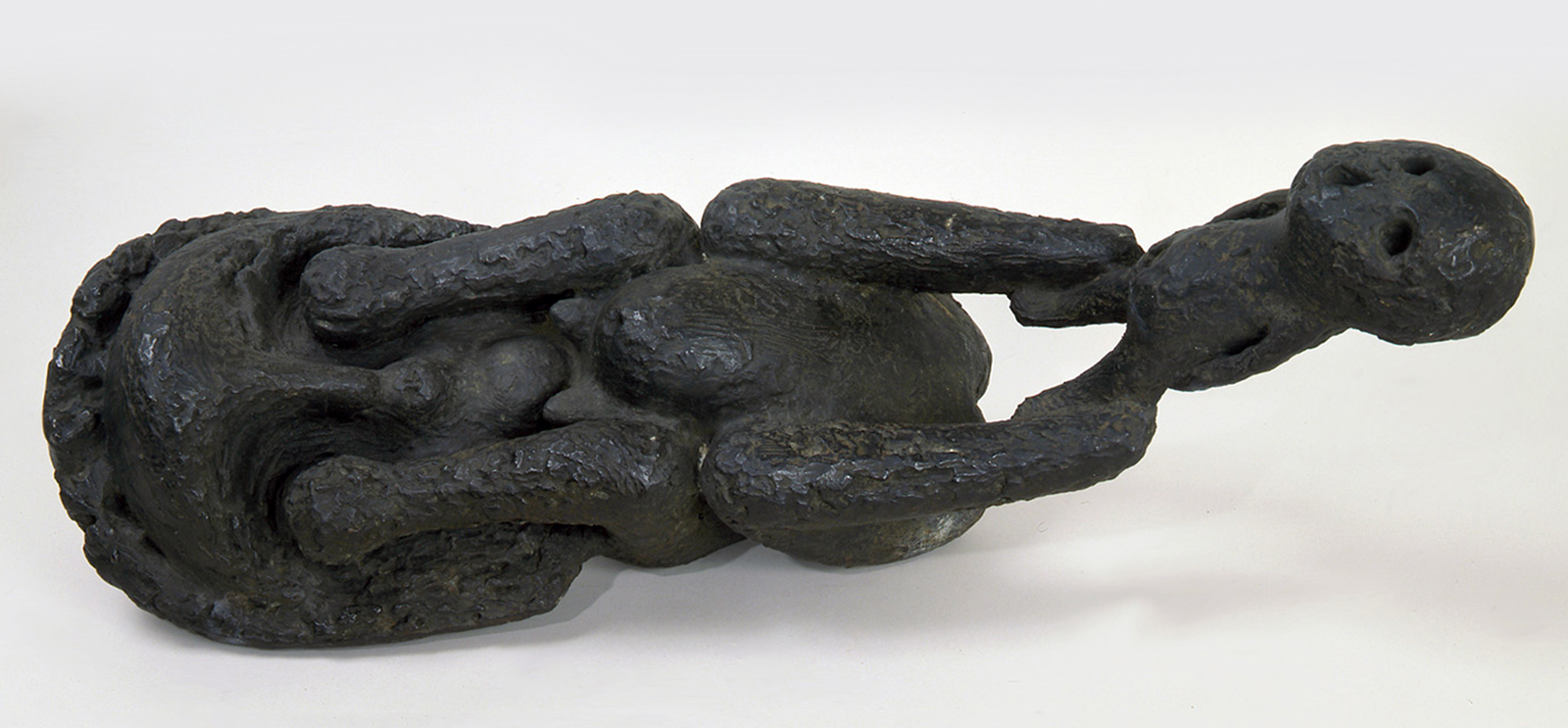 Cosmo Campoli, Birth of Death, 1950–1951, cast bronze