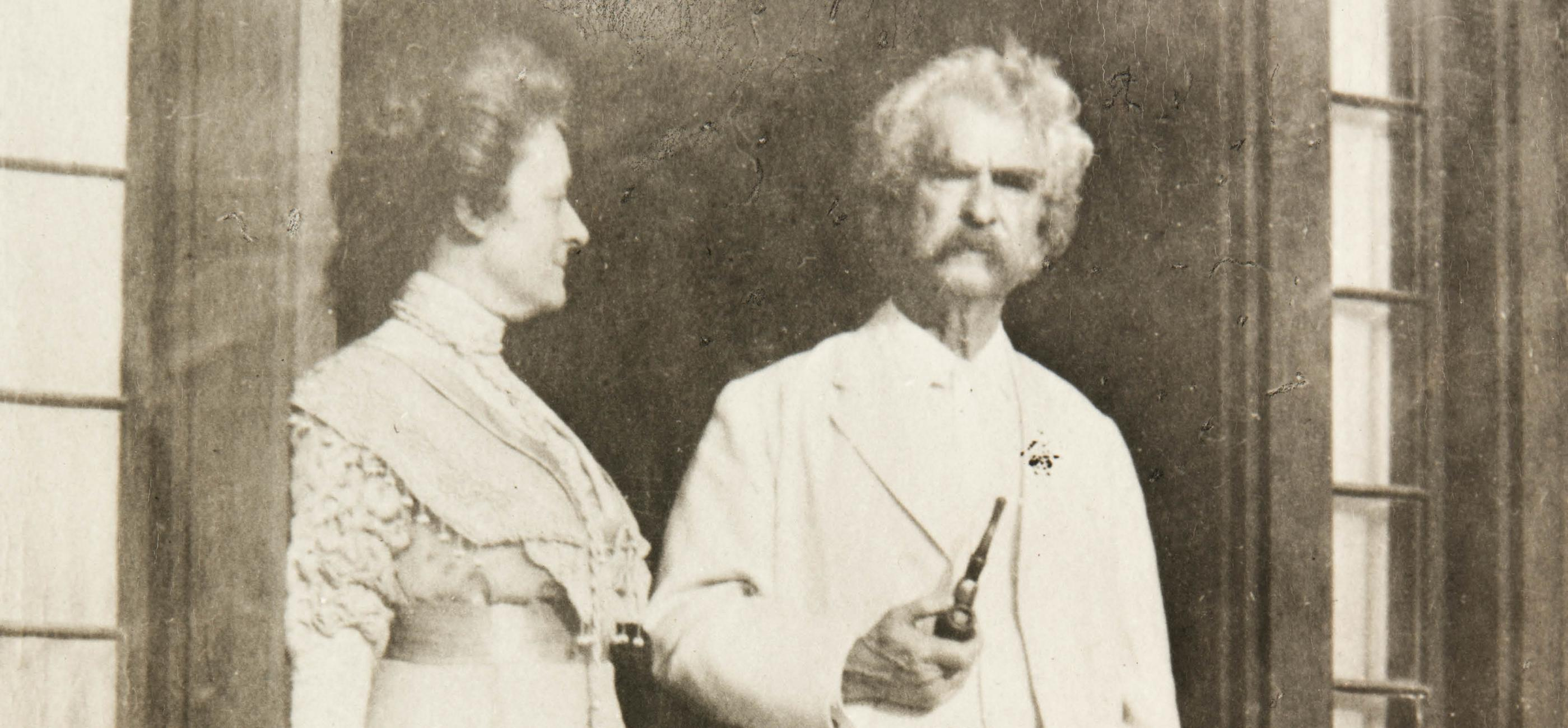 Elizabeth Wallace and Mark Twain