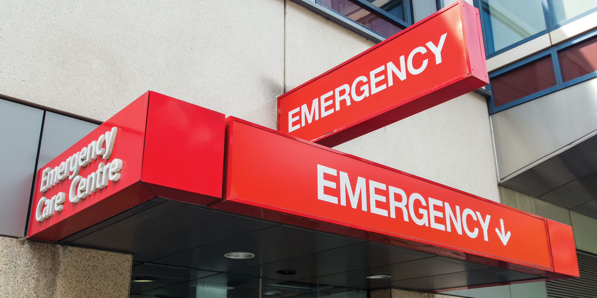 Emergency department signs