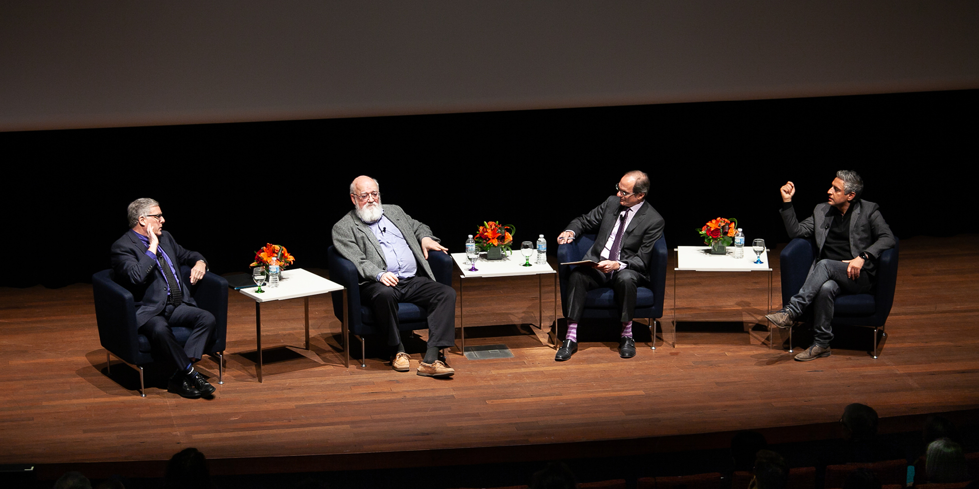 William Schweiker, Daniel C. Dennett, David Nirenberg, Reza Aslan