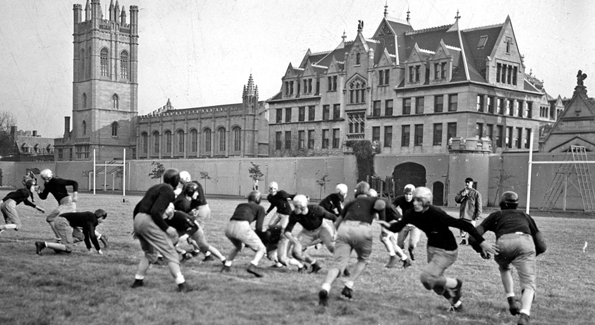 1947 Intramural football game at the University of Chicago