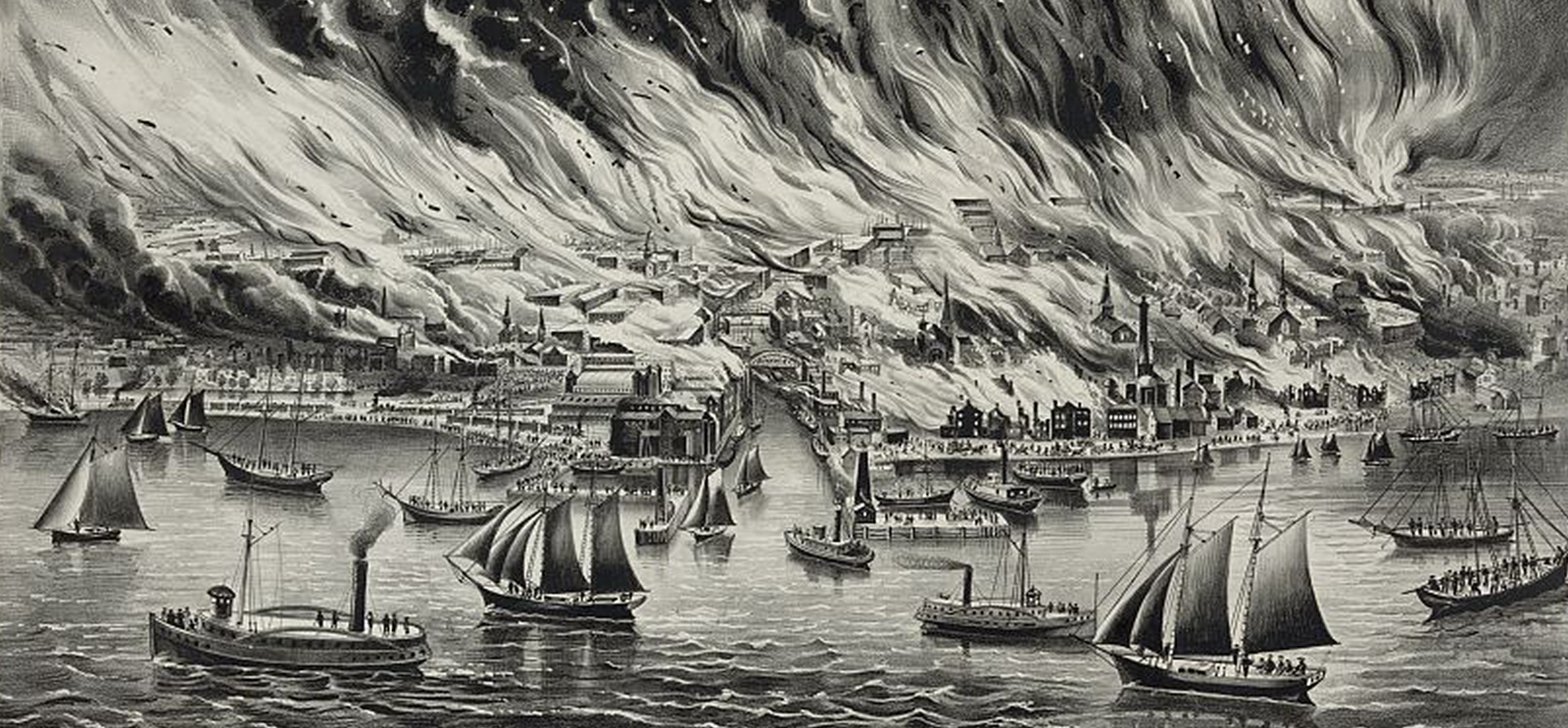 The Great Fire Chicago 1871 The University Of Chicago Magazine