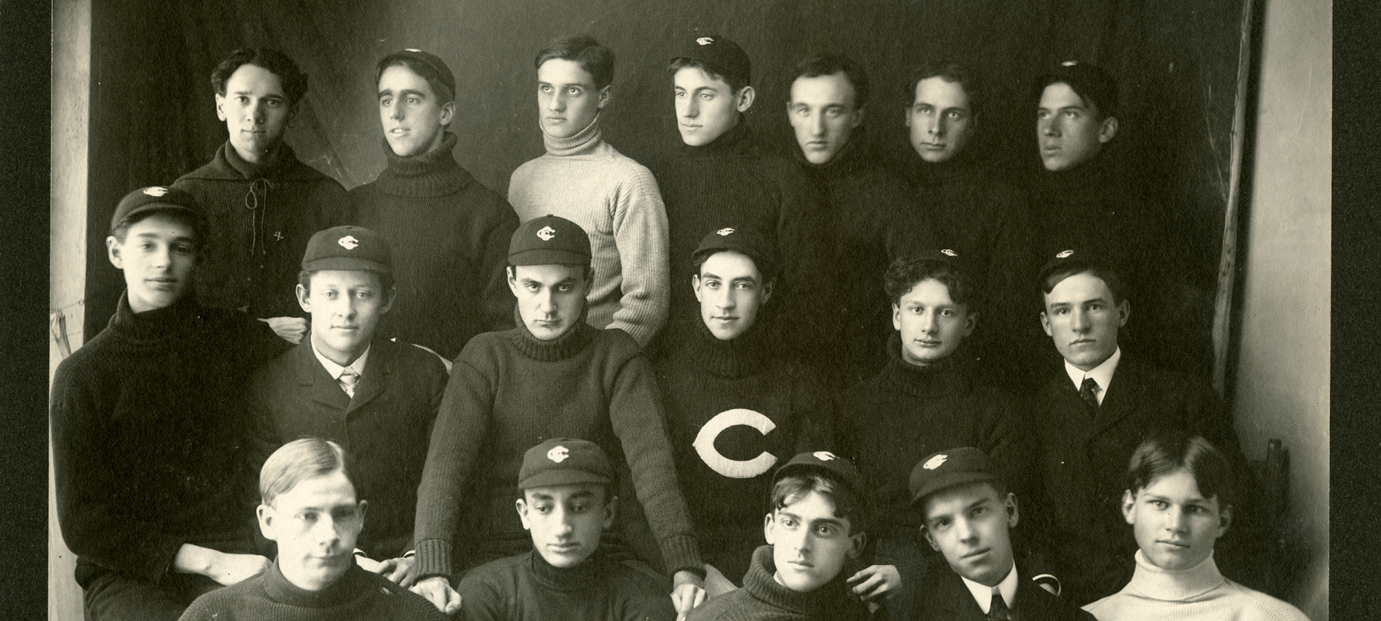 UChicago cross-country team circa 1900