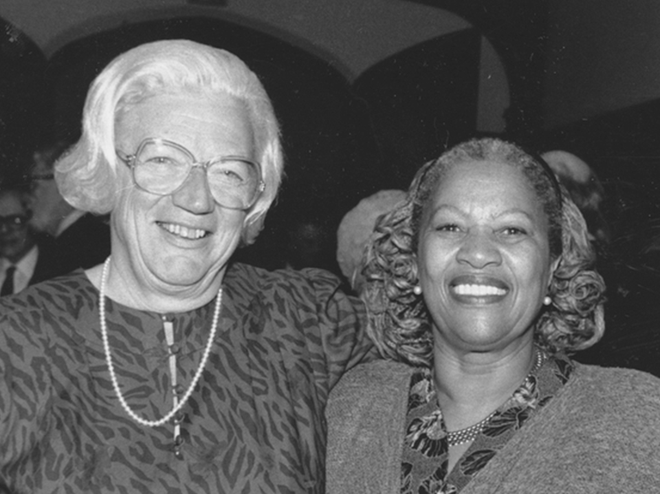 Gray with Toni Morrison