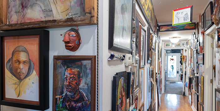 Patric McCoy's art collections