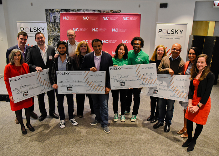 Winners of the Alumni New Venture Challenge 2019