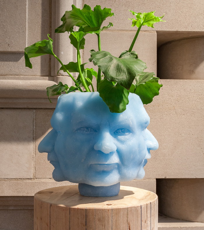 Sculpture/Planter of Heidegger