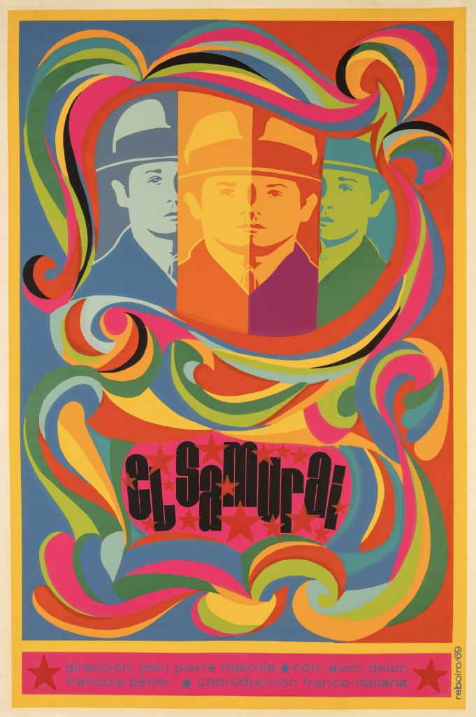 "Cuban poster for the French film ""Le Samourai"" (1967)"