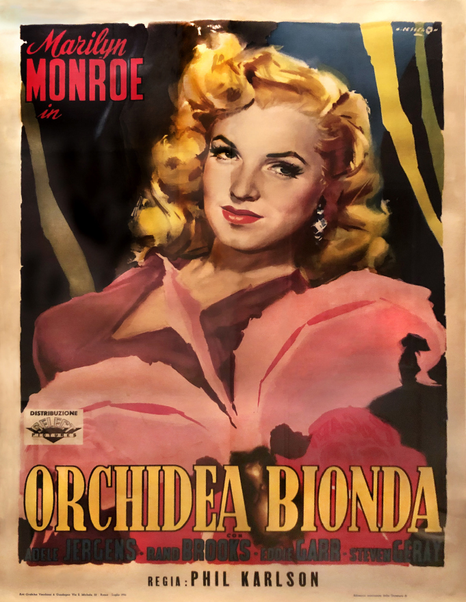 "Italian poster for ""Ladies of the Chorus"""