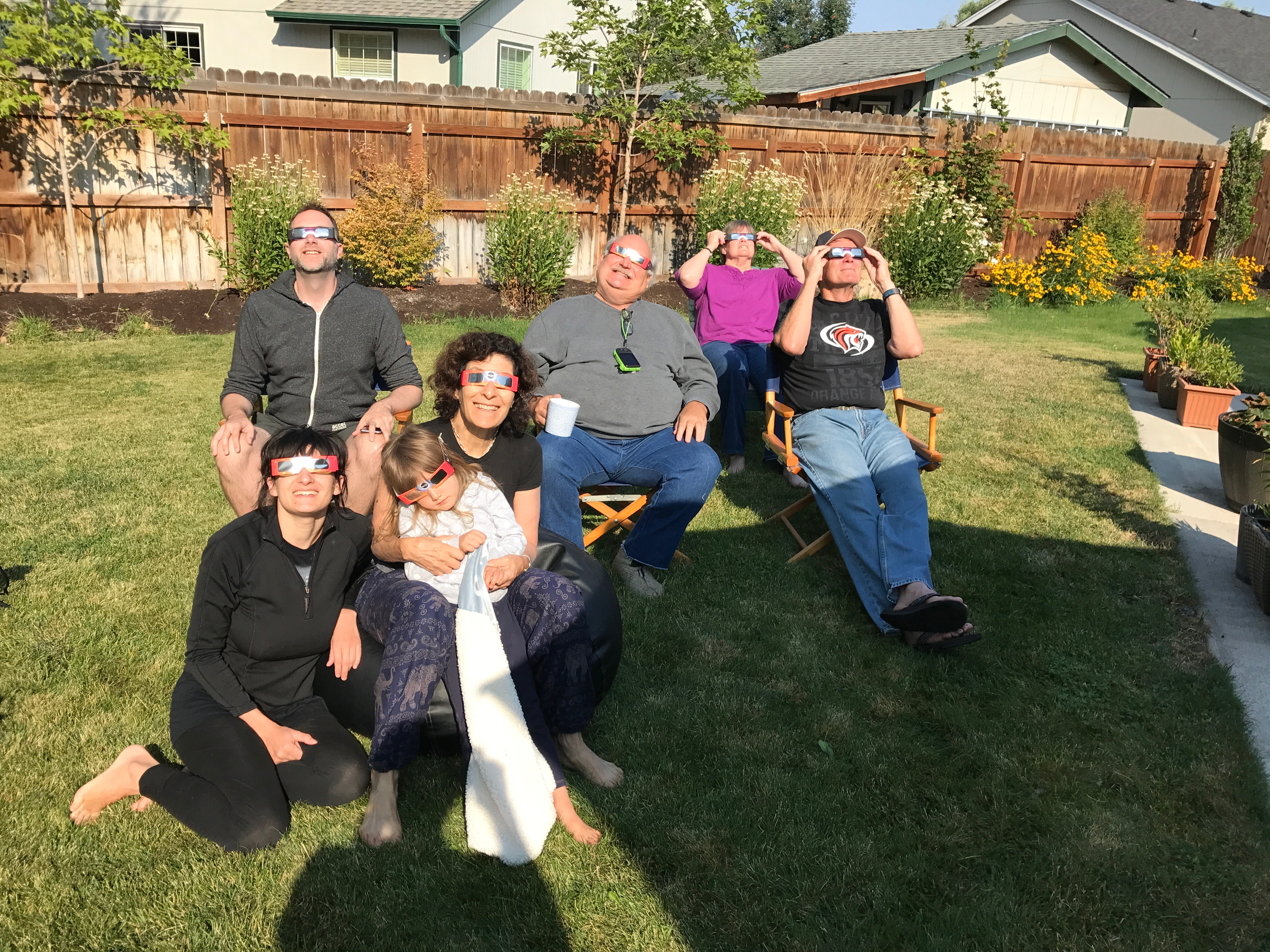 Robert Rosner and family in Oregon