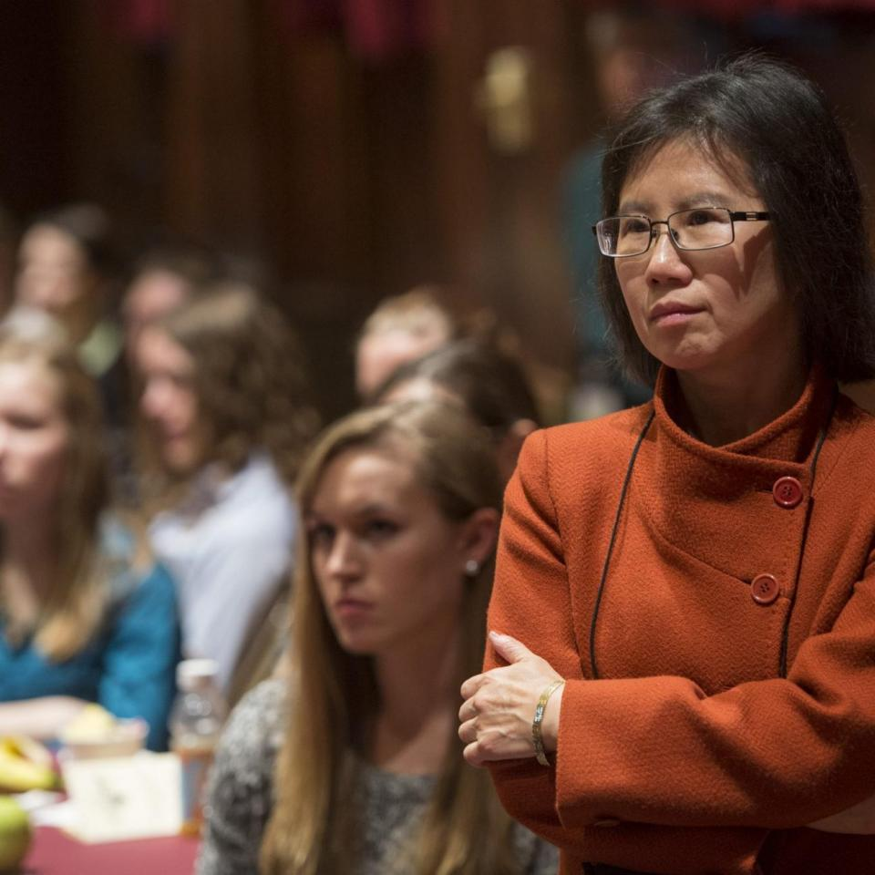 Young-Kee Kim organized the Midwest Conference for Undergraduate Women in Physics.