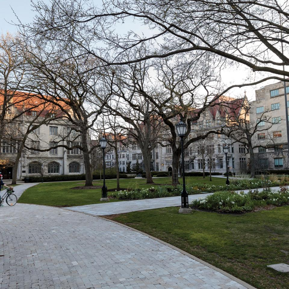 University of Chicago Hyde Park Campus